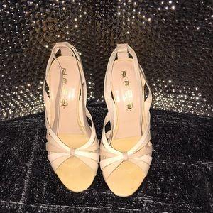 """L.A.M.B....nude heels"""""""